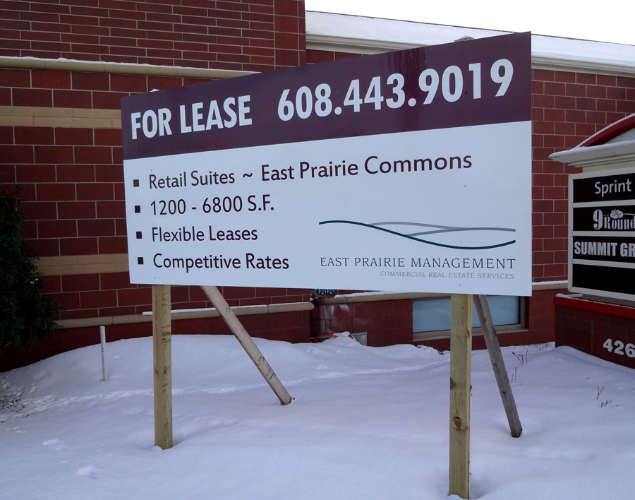 Real Estate Signs – Ground Signs Lease Metal Yards Signs