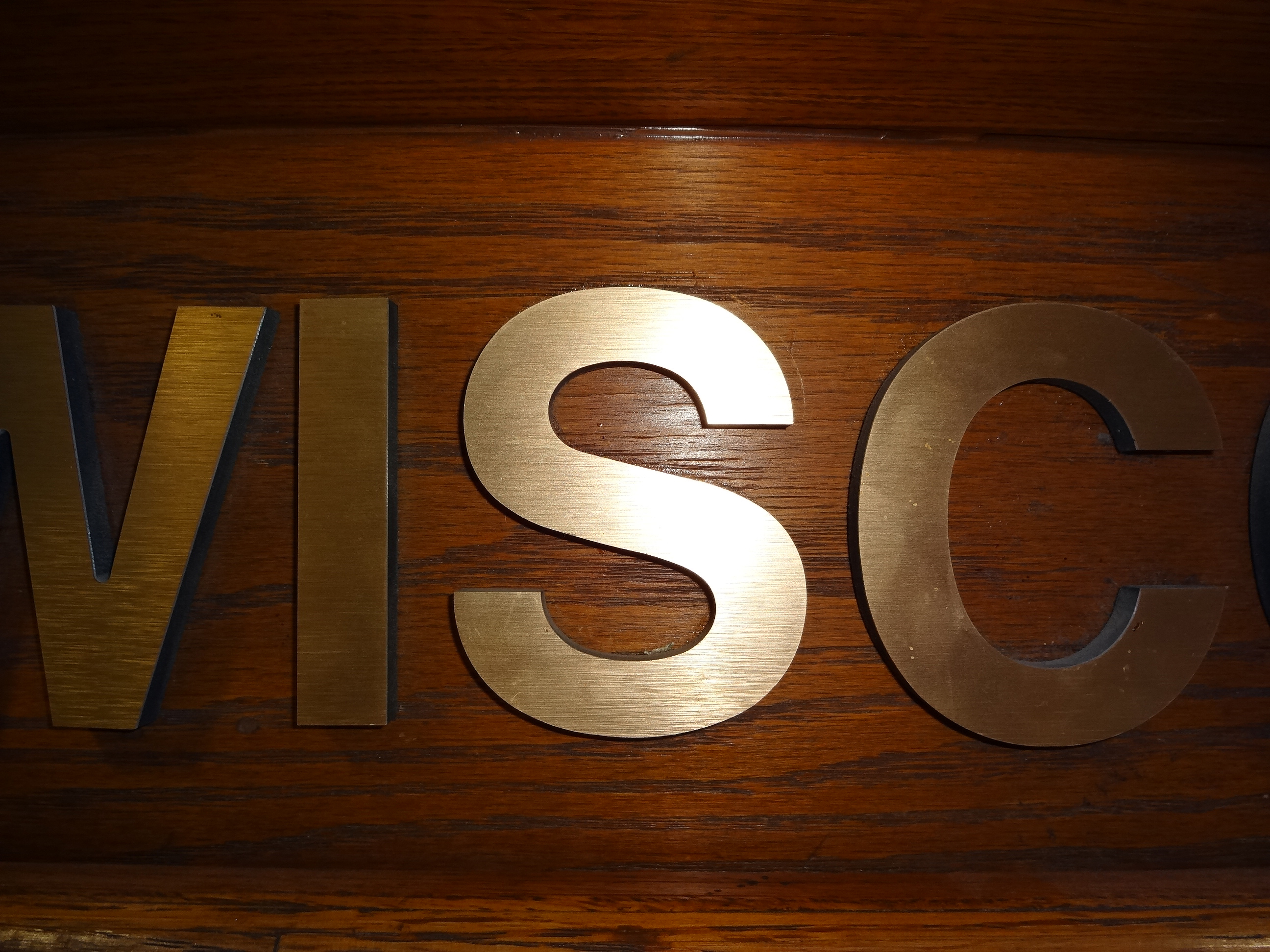 Bronze Letters For Sale Businessoffice Interior Signage  Madison Sign Lettering