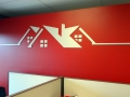 Brushed-Aluminum-Logo-on-Office-Wall