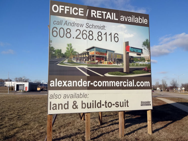 Site Signage Madison WI, Entrance Signs, Ground Breaking ...