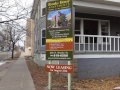 development-leasing-information-sign