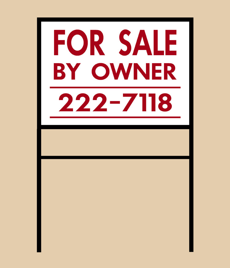Ground Signs, Lease, Metal Yards Signs