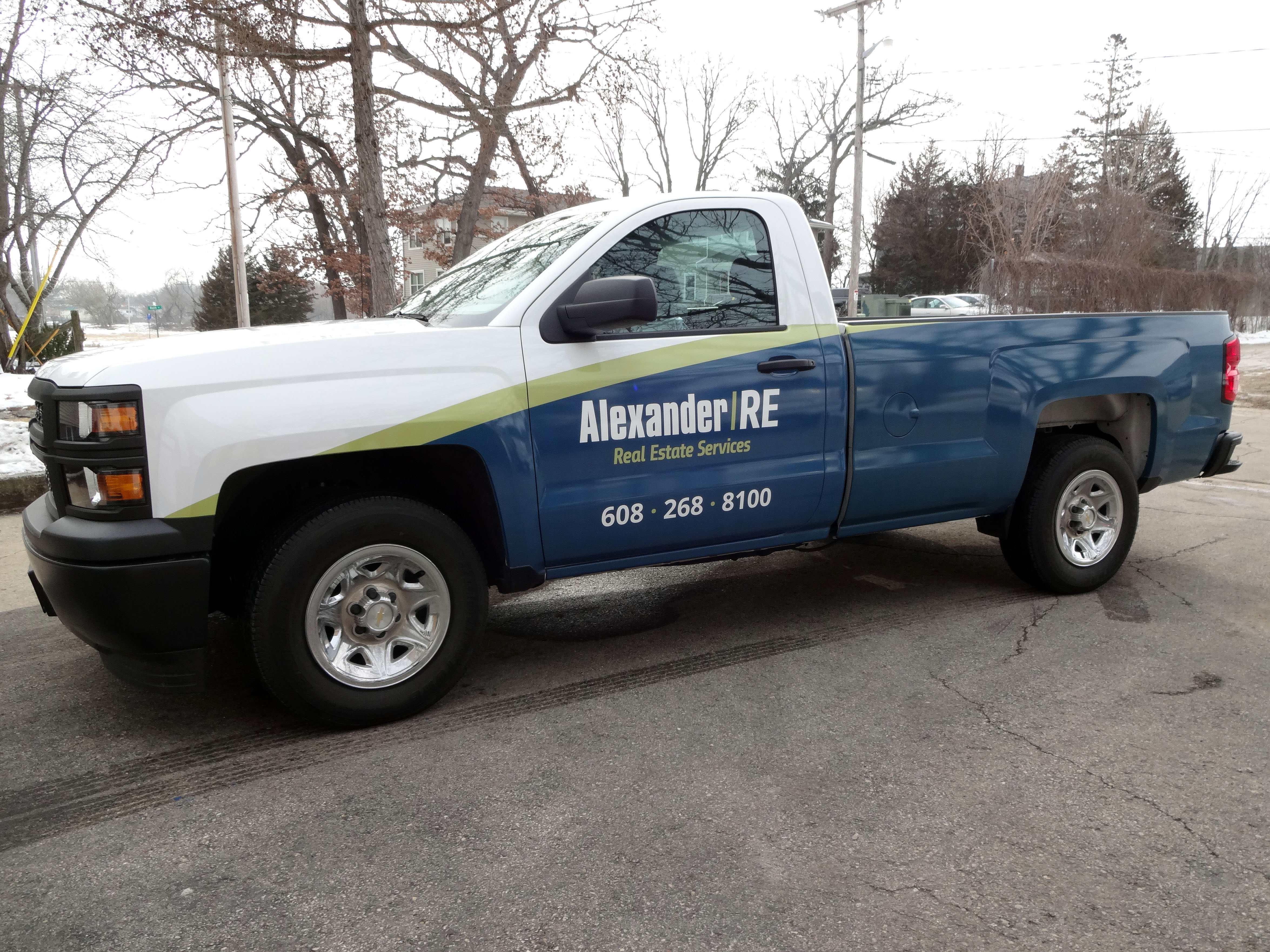 Vehicle Wraps, Truck Decals | Madison Sign Lettering